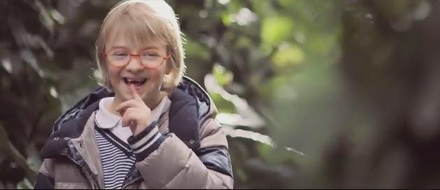 Mensaje positivo de niños con Síndrome de Down