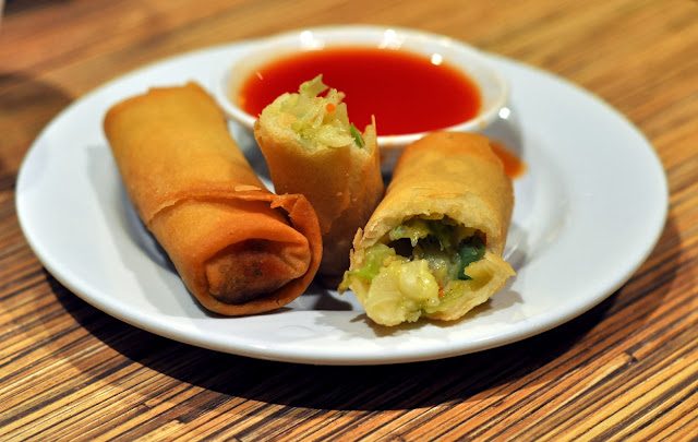 Vegetable Egg Roll - The Noodle Shop - Mandalay Bay - Las Vegas, NV | Taste As You Go