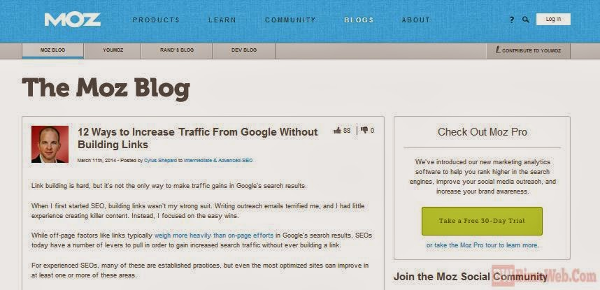 No Link Building Anymore, But Still Getting Traffic from Google