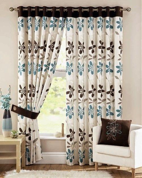 Ummylicious pendezesha nyumba yako kwa mapazia ya kisasa for Brown curtains bedroom ideas