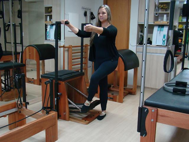 Fortalecendo as pernas com Pilates