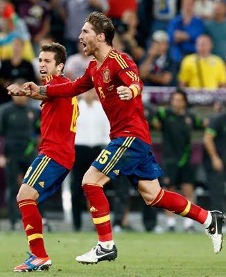 selección española gana penaltis a Portugal Eurocopa 2012