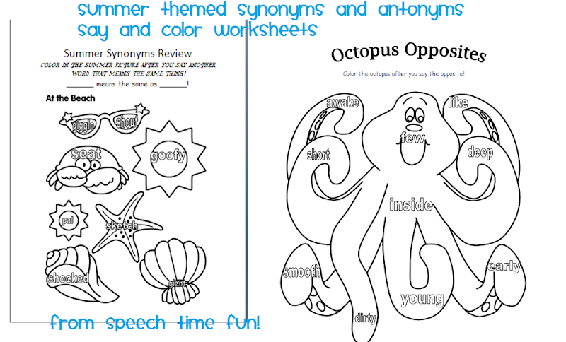 say and color worksheets. Each one was developed using coloring pages  title=