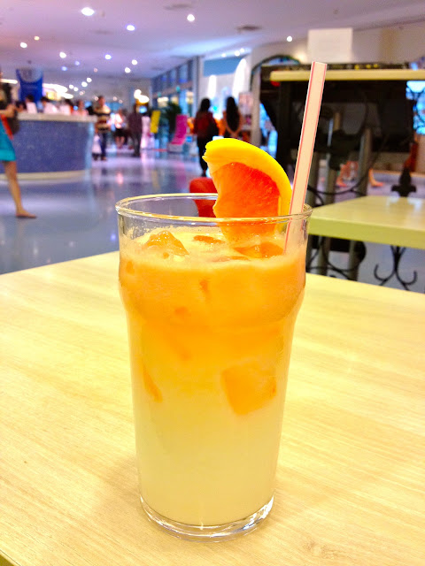 grapefruit calpis