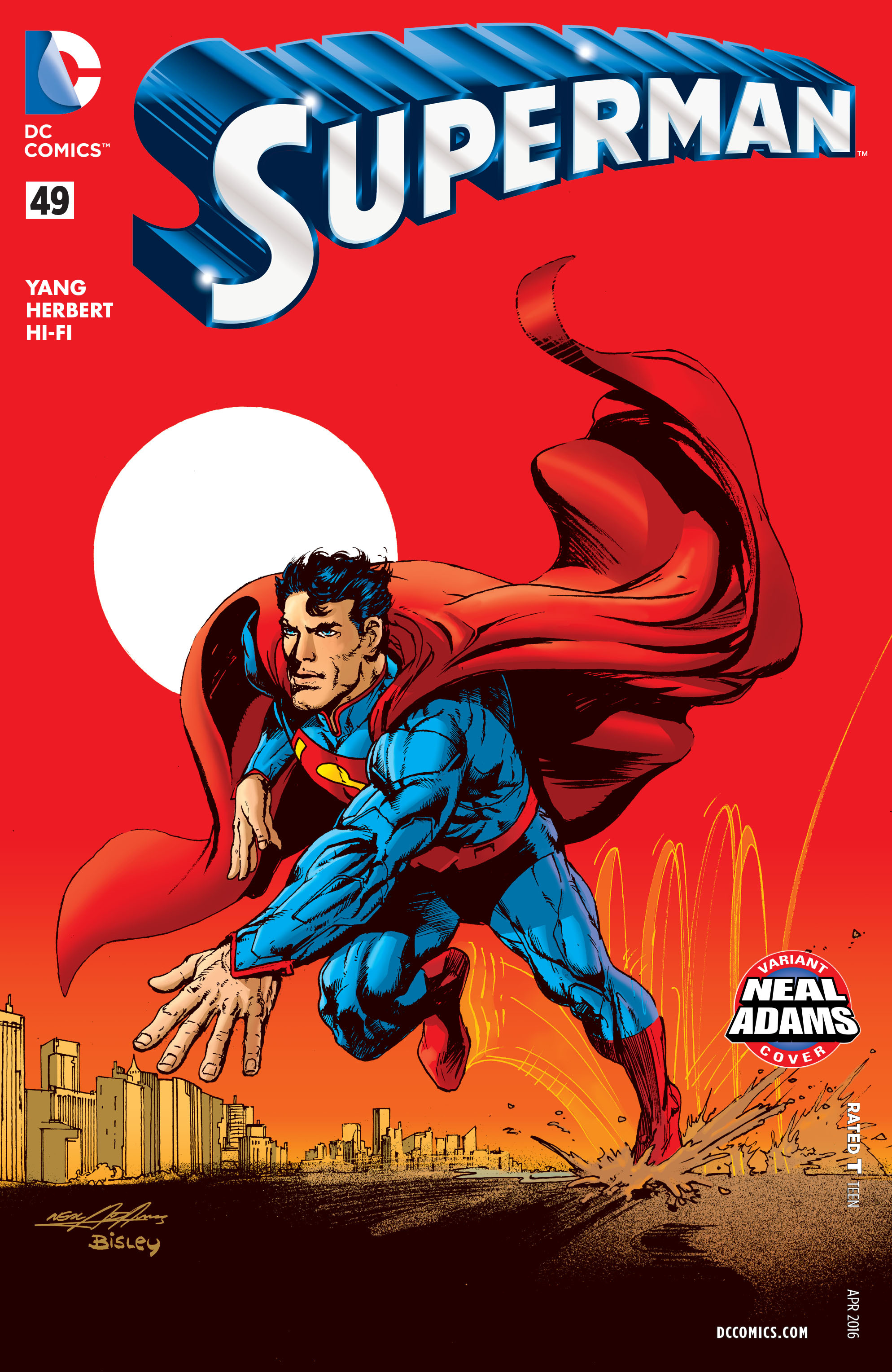 Read online Superman (2011) comic -  Issue #49 - 3