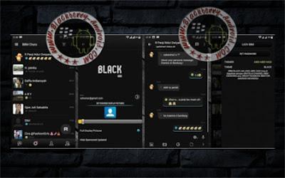 BBM Mod Fitur Main Tab Atas/Bawah Tema Full Black Terbaru v2.10.0.30 Apk