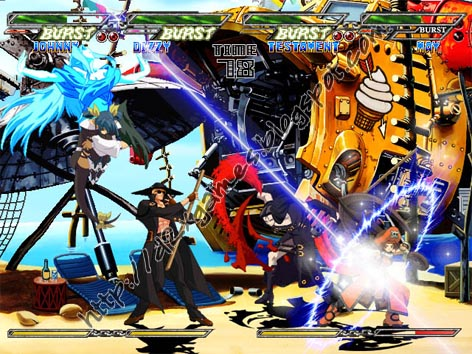 Free Download Games - Guilty Gear Isuka
