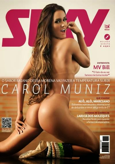 Revista Sexy Carol Muniz