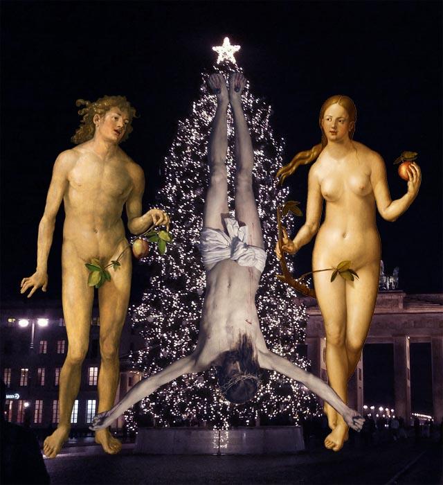 El árbol de Navidad y la religión capitalista