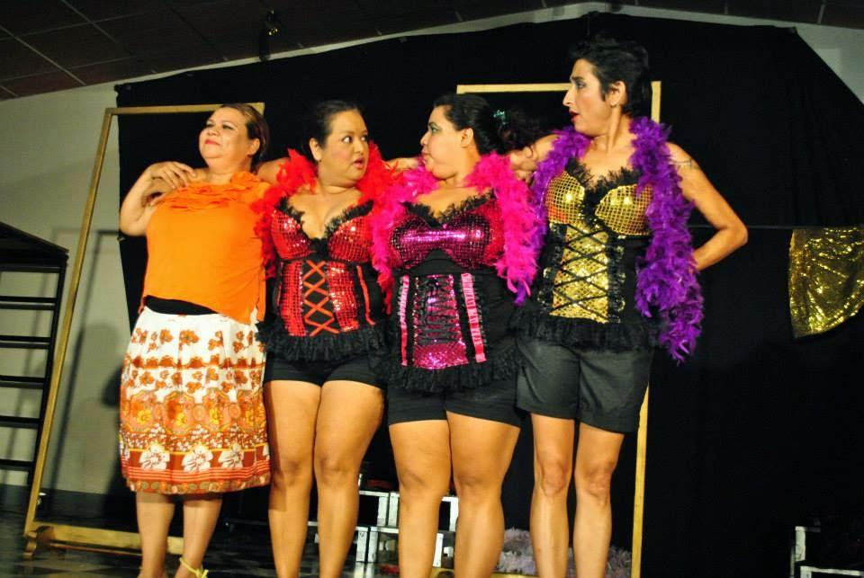 GRUPO DE TEATRO FEMINISTA 8 DE MARZO de Managua.