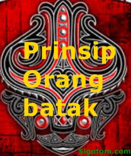 Prinsip Orang Batak