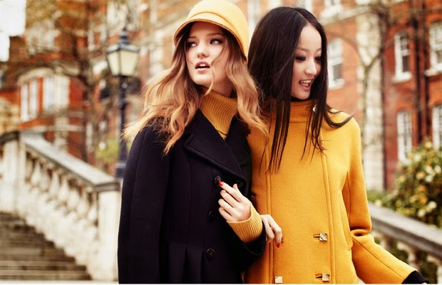 color tendencia para este otoño el mostaza, el nuevo negro