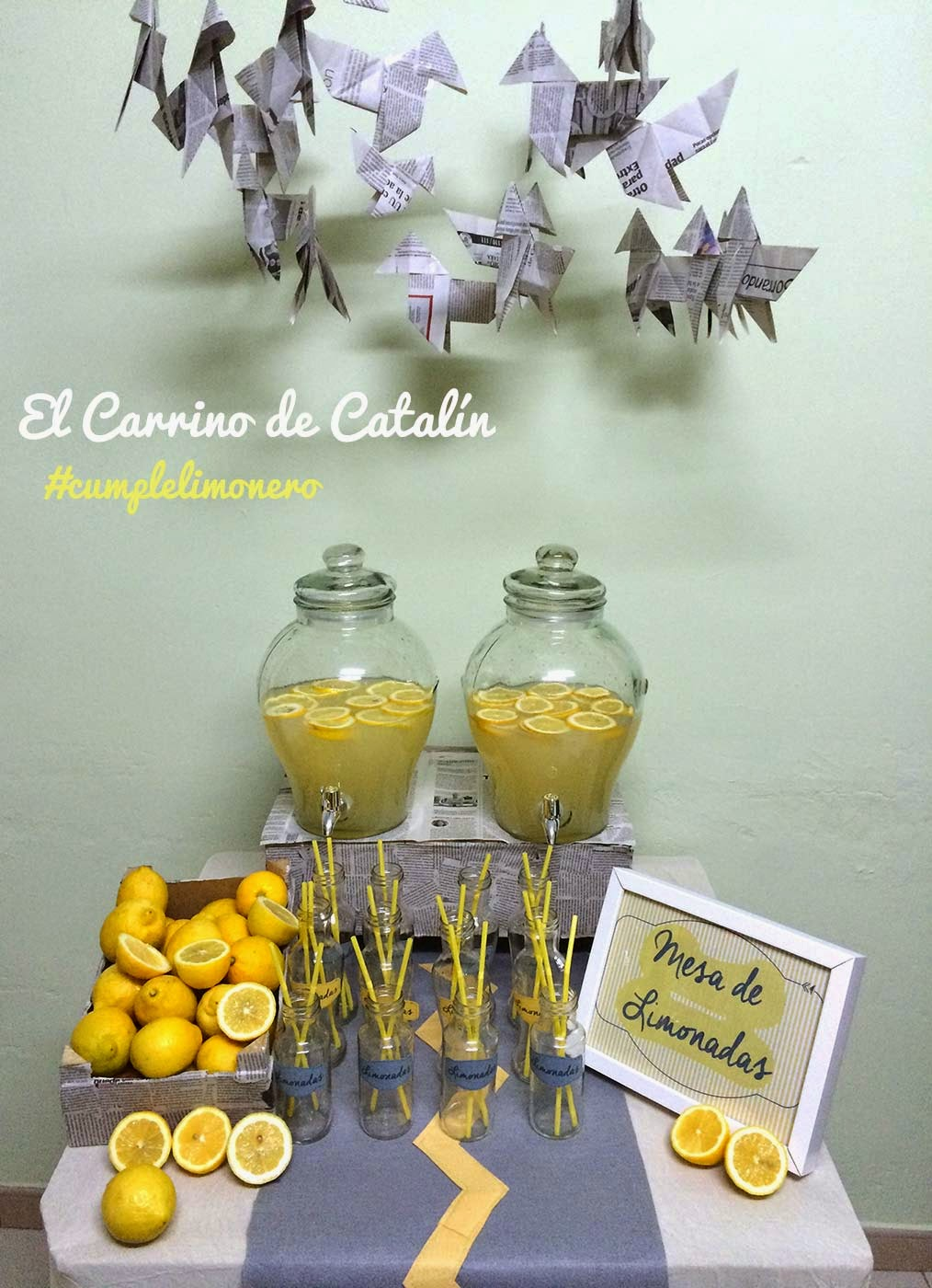 dispensadores de limonadas para eventos