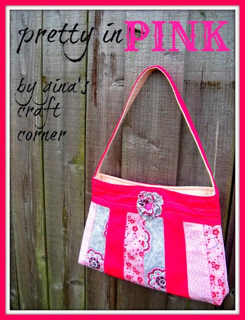 Gina's Craft Corner: Pretty in Pink Bag