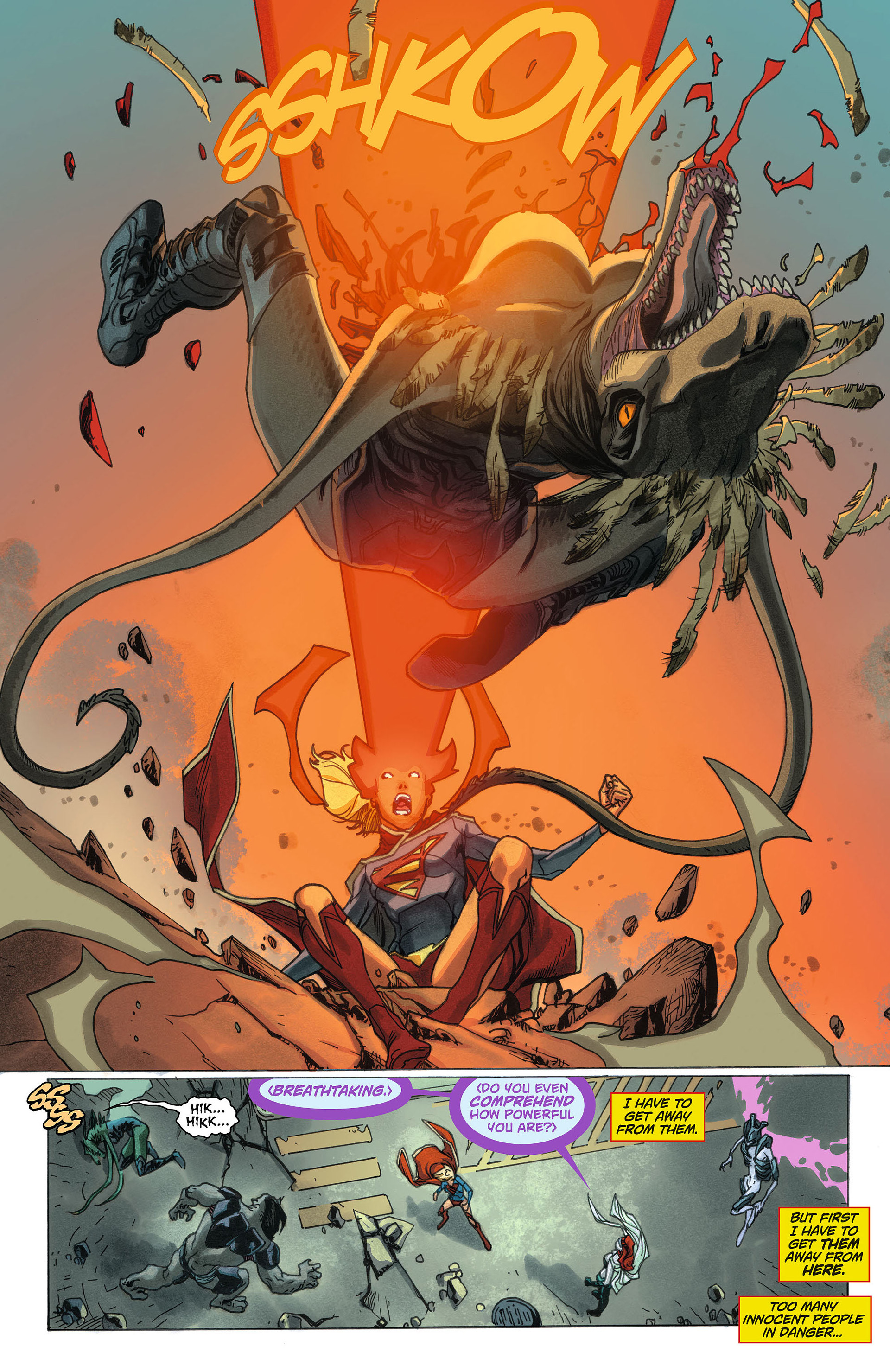 Supergirl (2011) Issue #7 #9 - English 6