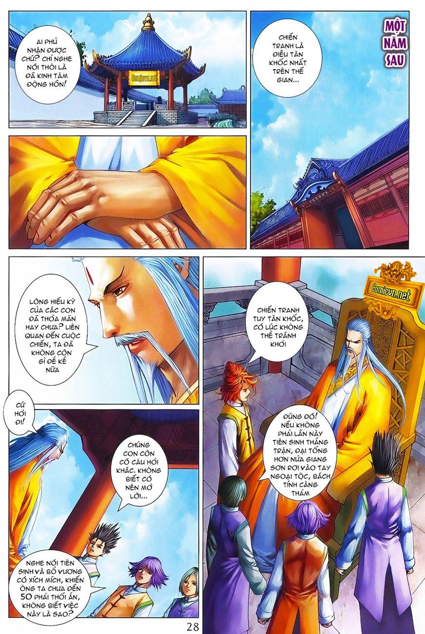 Tứ Đại Danh Bổ chap 371 – End Trang 28 - Mangak.info