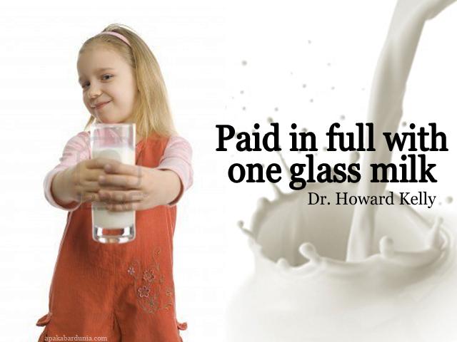 Segelas Susu Menyelamatkan 2 Nyawa Manusia