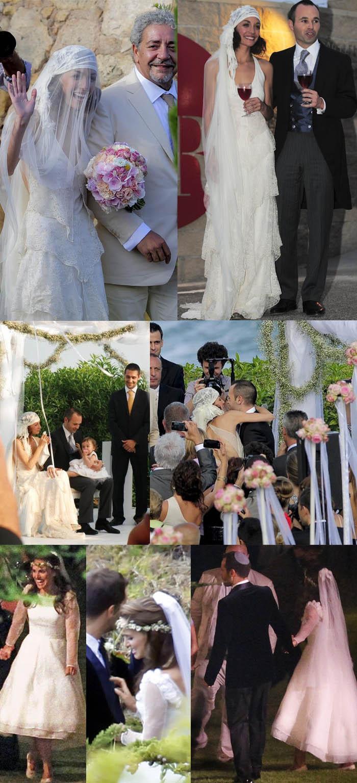 O CASAMENTO DOS SONHOS_Anne Hathaway_Andres iniesta_ barcelona_ Messi_ Piqué_ Shakira_Anna Ortiz_vestidos de noiva_natalie portman_decoração casamento_jessica biel_Gwen Stefani_ Vestido de noiva rosa