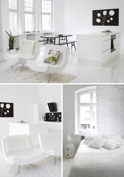 Ciliegie relooking interni in bianco for Siti design interni