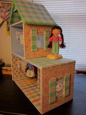 Сделать кукольный домик своими руками из картона