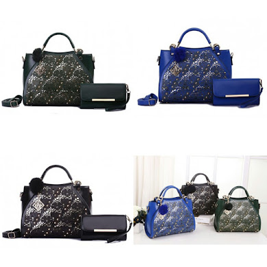HANDBAG GRED AAA - RMY GREEN , BLACK , BLUE