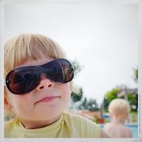 Emma in shades