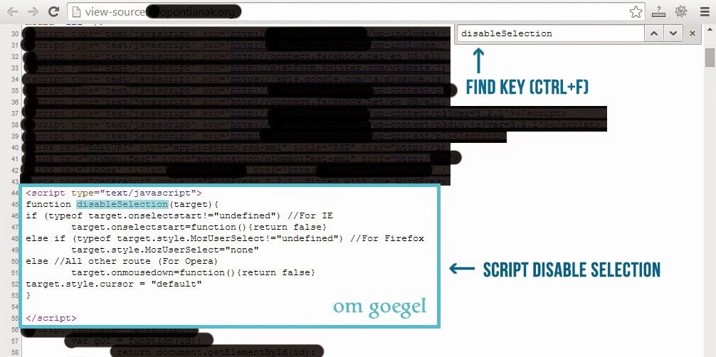 Find Script Disable (3)