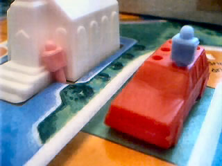 life game, life movie, board game movie, blue and pink