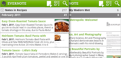 Evernote para Android