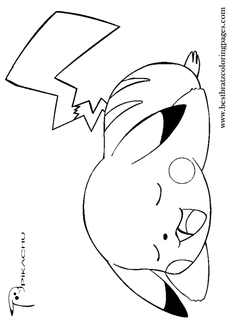 free coloring pages of r pikachu