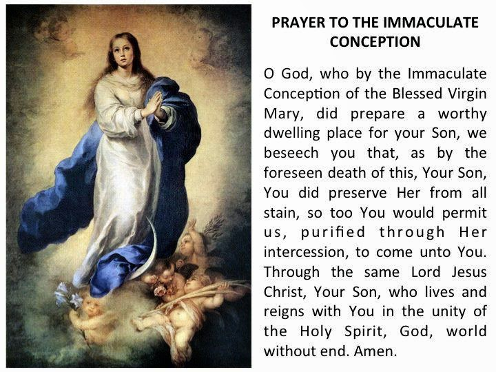 ... Feast of Our Lady of the Immaculate Conception!!! Learn more about