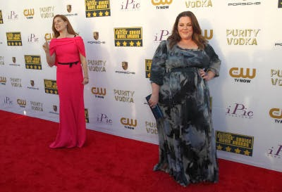 Amy Adams, left, and Melissa McCarthy