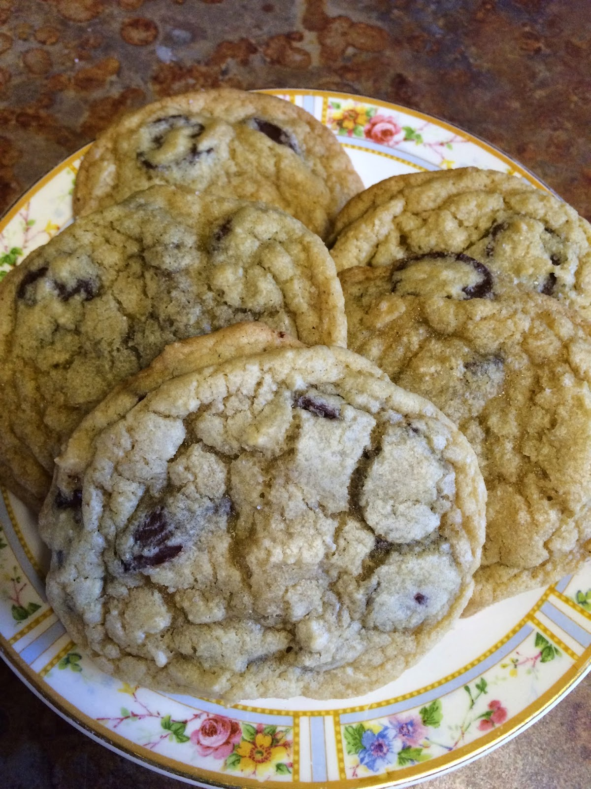 Cake Concepts by Cathy: Ultimate High Altitude Chocolate Chip Cookies
