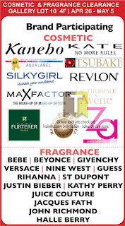 Cosmetics and Fragrance Clearance 2013