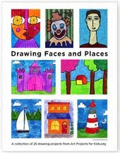 Draw Faces & Places eBook $5