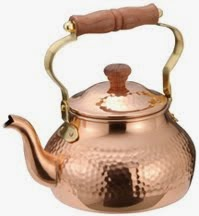 A Copper Kettle For Your Tea: