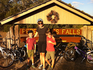 family-friendly bike ride near Austin to Johnson City