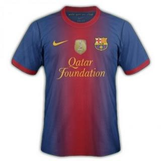 Kostum Barcelona Terbaru 2013