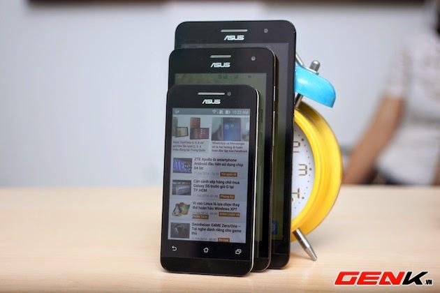 Cảm nhận nhanh bộ ba ZenFone