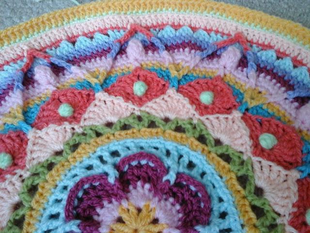 Tina's Allsorts, Sophies Garden Mandala