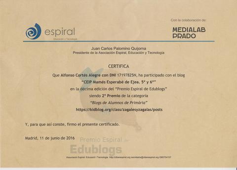 X Premios Espiralblogs