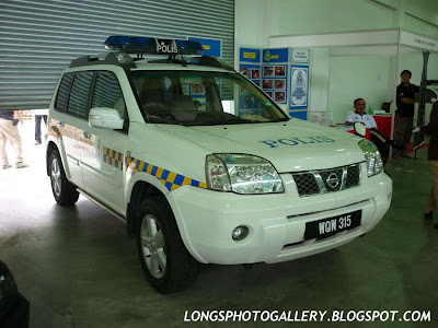 Nissan X-Trail of Royal Malaysian Police