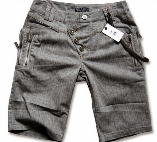 model celana jeans pendek untuk pria terbaru 2017/2018
