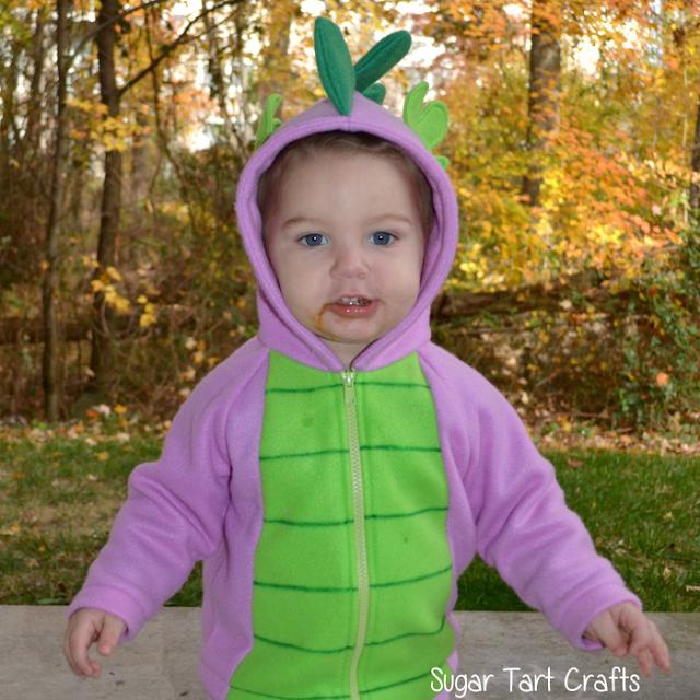 Children's Spike the Dragon My Little Pony Costume