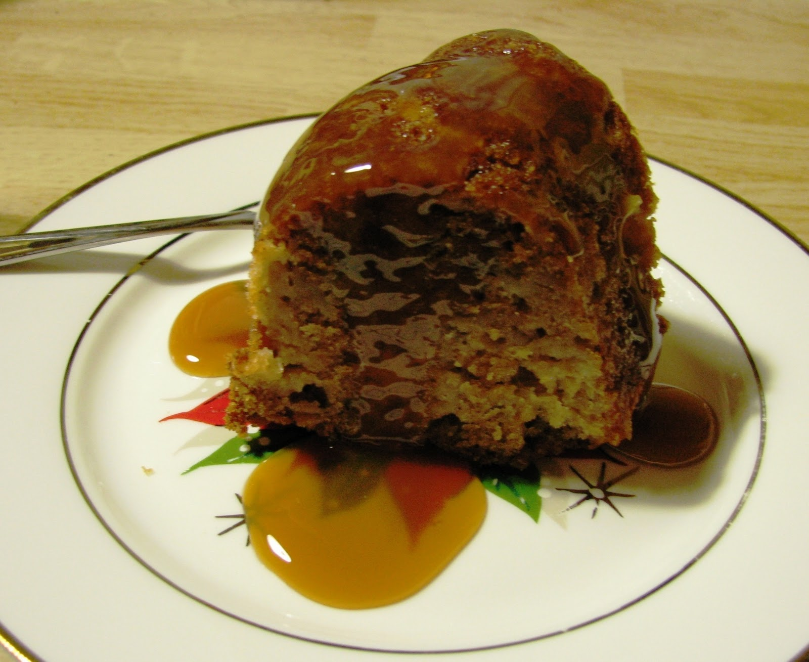 next how about this deliciously moist apple honey bundt cake