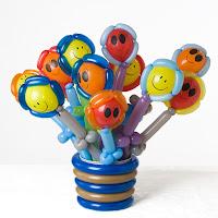 Smiley Bucket Balloon