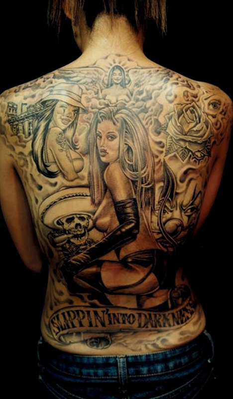 Flag Days Italian Mafia Tattoos