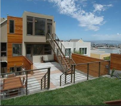 Fotos de terrazas terrazas y jardines terrazas de casas - Fotos de casas de un solo piso ...