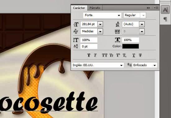 Texto con Estilo de Chocolate y Textura de Galleta 44 by Saltaalavista Blog