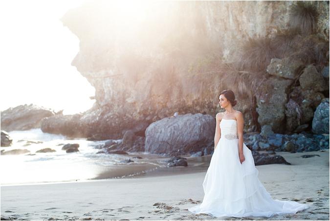 Laguna Beach Inspirational Bridal Shoot Southern